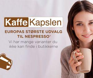 kaffekapsler og kaffepuder